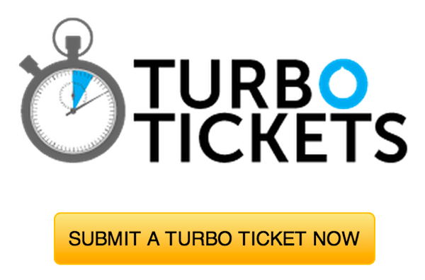 Try a Turbo Ticket now!