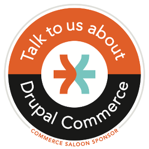 Commerce Saloon sponsor badge